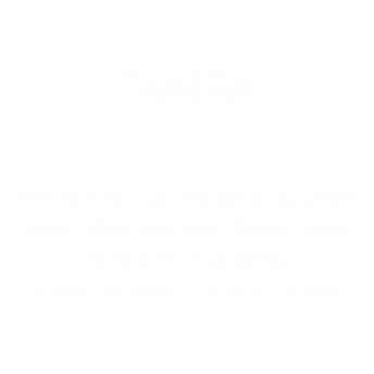 Tampa, FL Law Office Details